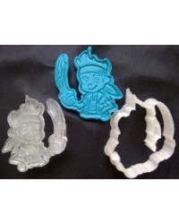 image: Jake Neverland Pirate cutter embossing plunger stamp