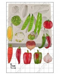 image: Vegetables silicone mould