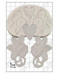 image: Esme lace silicone mould