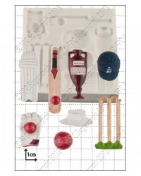 image: Crickets sports silicone mould