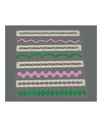 image: FMM straight frill cutter set 5 (17-20) Geometric
