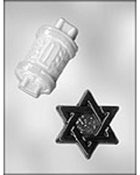 image: Jewish mini chocolate mould symbols #2