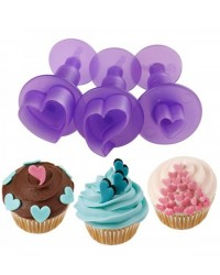 image: Wilton Hearts Mini Fondant Cut-Outs ejector plunger cutter set