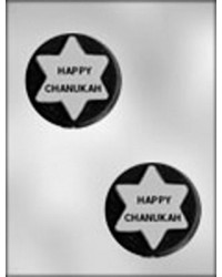 image: Jewish mini chocolate mould Happy Chanukah