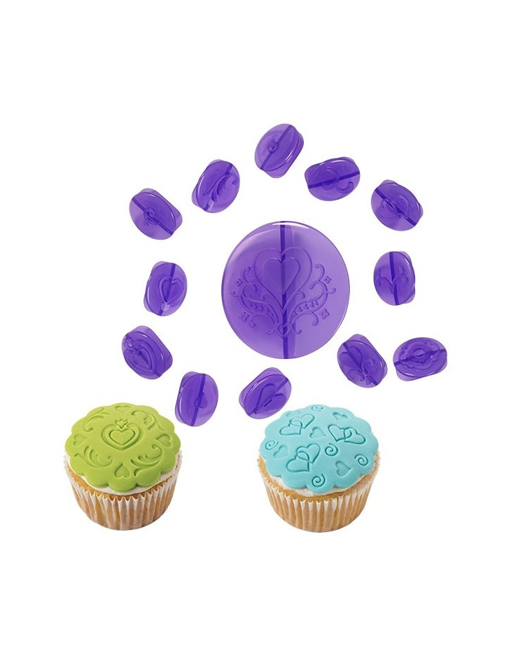 how to use wilton cupcake decorating set