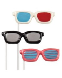 image: Sweet shades Sunglasses lollipop chocolate mould