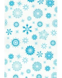 image: Wafer paper sheet Snowflakes