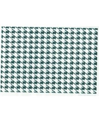 image: Wafer paper sheet Black & White houndstooth