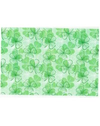 image: Wafer paper sheet Shamrock