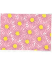 image: Wafer paper sheet Pink floral