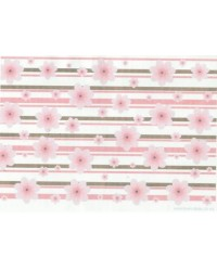 image: Wafer paper sheet Cherry Blossom STRIPE