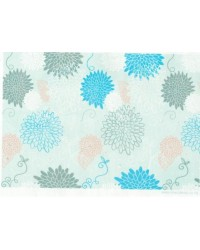 image: Wafer paper sheet Chrysanthemum floral