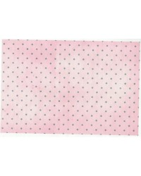 image: Wafer paper sheet Pink polka dot