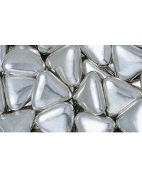 image: Cachous Dragee silver Triangle shape 500g