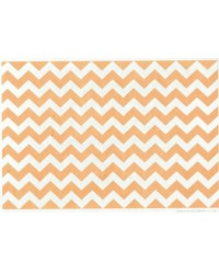 image: Wafer paper sheet Mustard Yellow chevron zig-zag