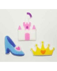 image: Disney Princess Royalty sugar icing decorations (12)