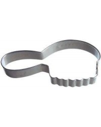image: Hair Brush cookie cutter