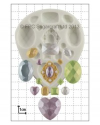image: Jewels & Gems silicone mould