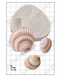 image: Large seashells shells silicone mould