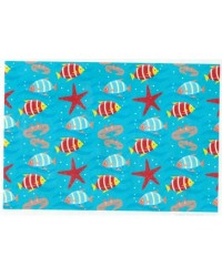image: Wafer paper sheet Under the Sea Fish & Starfish