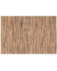 image: Wafer paper sheet Woodgrain