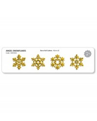 image: Jem Angel Snowflake Snowflakes Cutter set