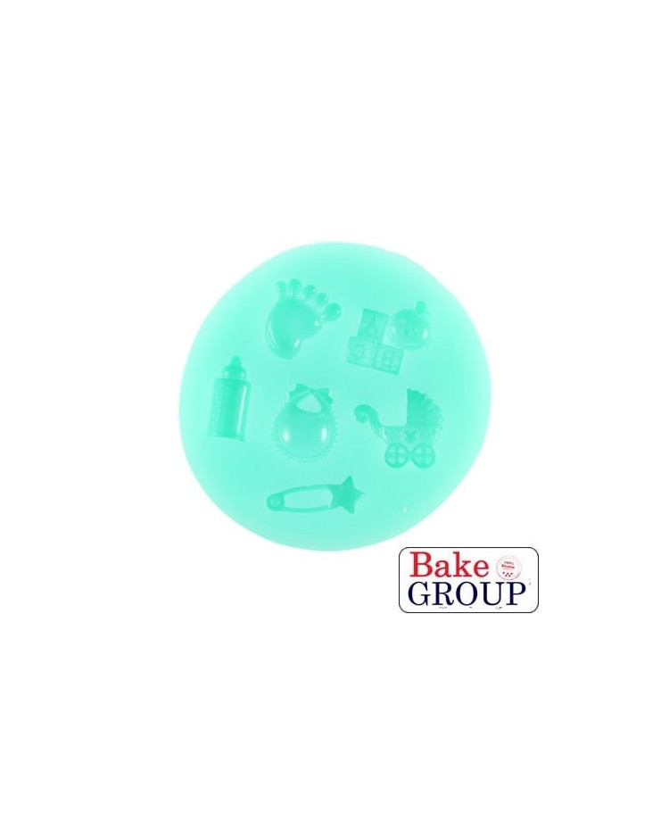image: Baby theme silicone mould
