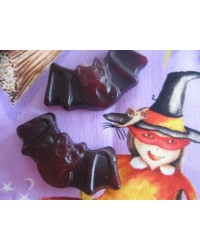image: Black bats gummy candy lollies by Mayceys
