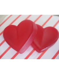 image: Glo Hearts heart candy lollies 200g by Mayceys NZ