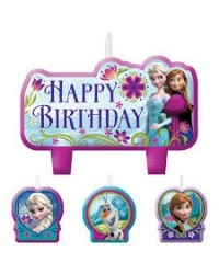 image: Frozen Birthday candle set 4