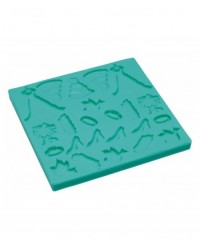 image: Wedding icons silicone mould (dress shoe rings gown)