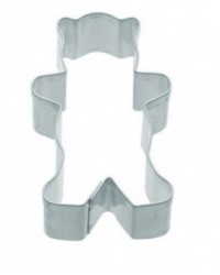 image: Teddy bear cookie cutter small 5cm