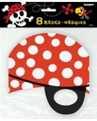 image: Pirate fun party masks (8)