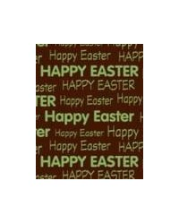 image: Chocolate transfer sheet HAPPY EASTER message