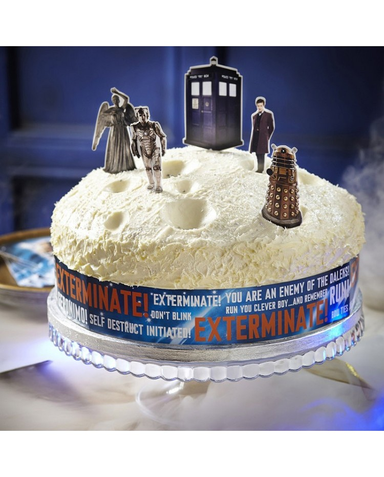 image: Doctor Who Cake decorating kit Dr Who