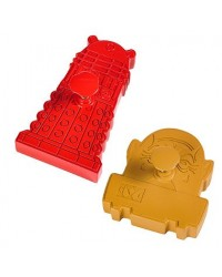 image: Doctor Who Dalek & Sontaran Plunger cookie cutters Dr Who