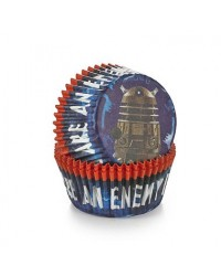 image: Doctor Who Dalek cupcake papers pack 50 Dr Who
