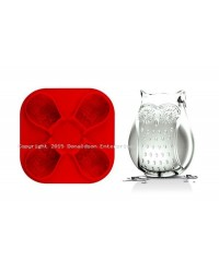 image: Owl silicone ice mould great for chocolate & fondant too