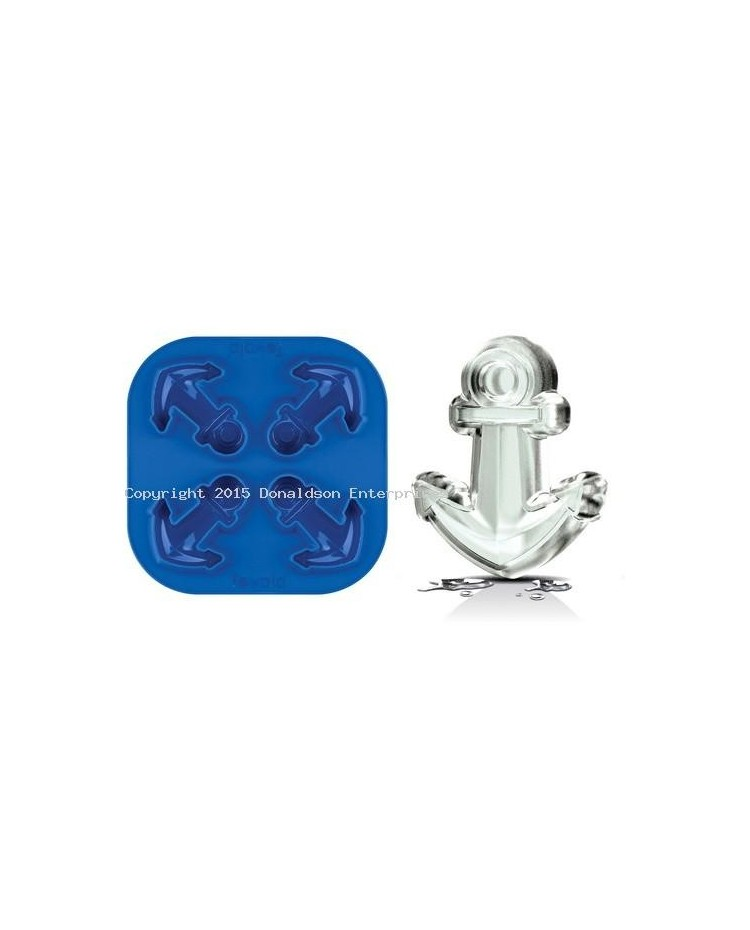 image: Anchor silicone ice mould great for chocolate & fondant too