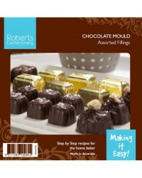 image: Deep fill square & rectangle truffle chocolate mould