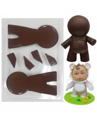 image: Lil Boss Boss man chocolate mould