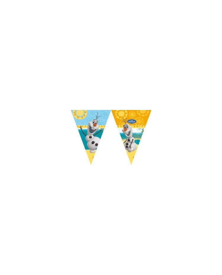 image: Frozen Olaf flag bunting banner 2.3m