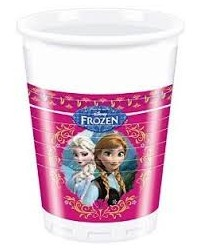 image: Frozen Elsa & Anna party cups (8)