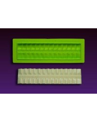 image: Pretty in Pleats silicone mould Marvelous Molds