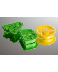image: A-B-C and 1-2-3 alphabet Cutter 36 piece Set