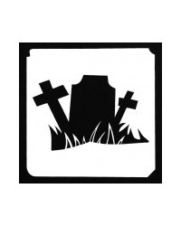 image: Tombstone stencil