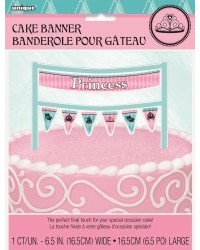 image: Cake banner bunting Fairytale Princess