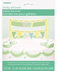 image: Cake banner bunting Baby Shower topper