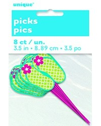 image: Jandal Jandals cupcake picks pack of 8 #1