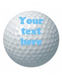 image: Custom golf ball edible icing image
